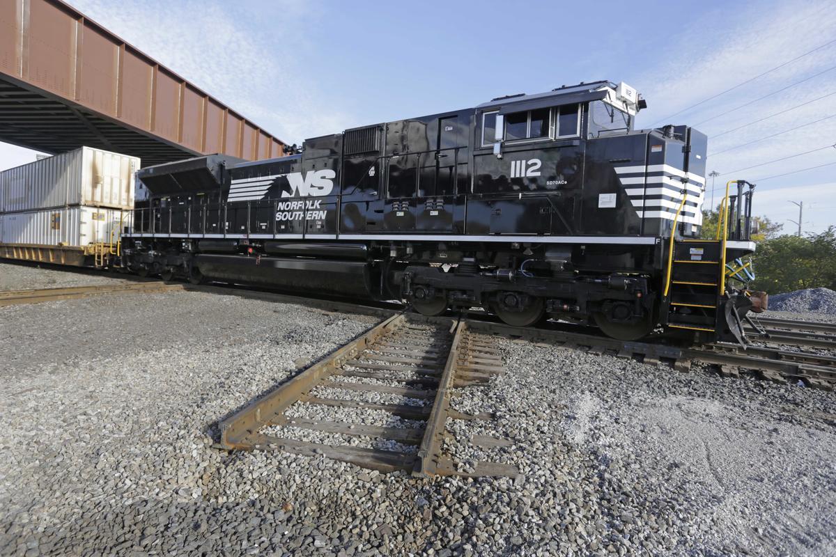 Norfolk Southern train rail