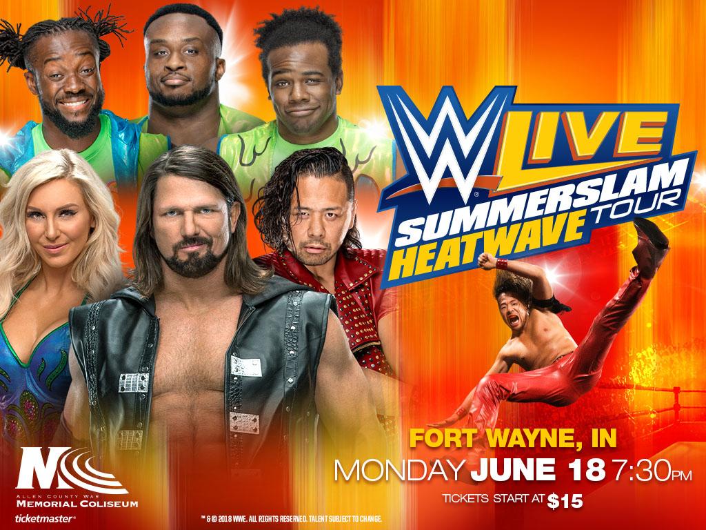WWE Live Summerslam Heatwave