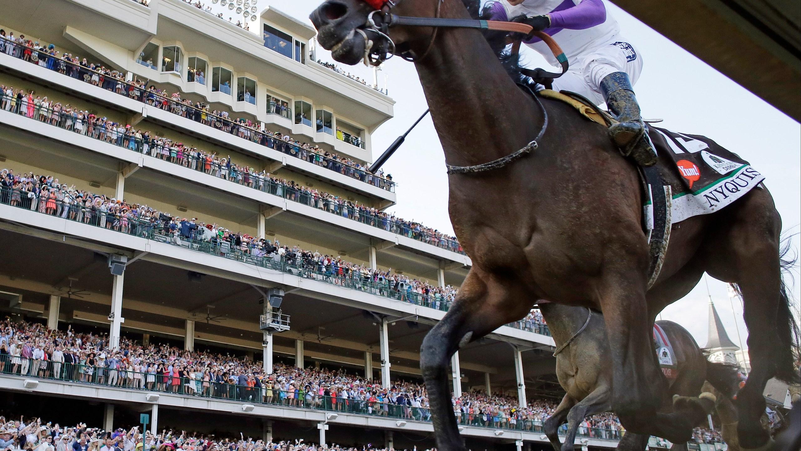 APTOPIX Kentucky Derby Horse Racing_182764