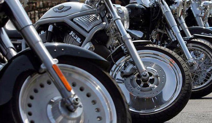 motorcycles bike charity ride