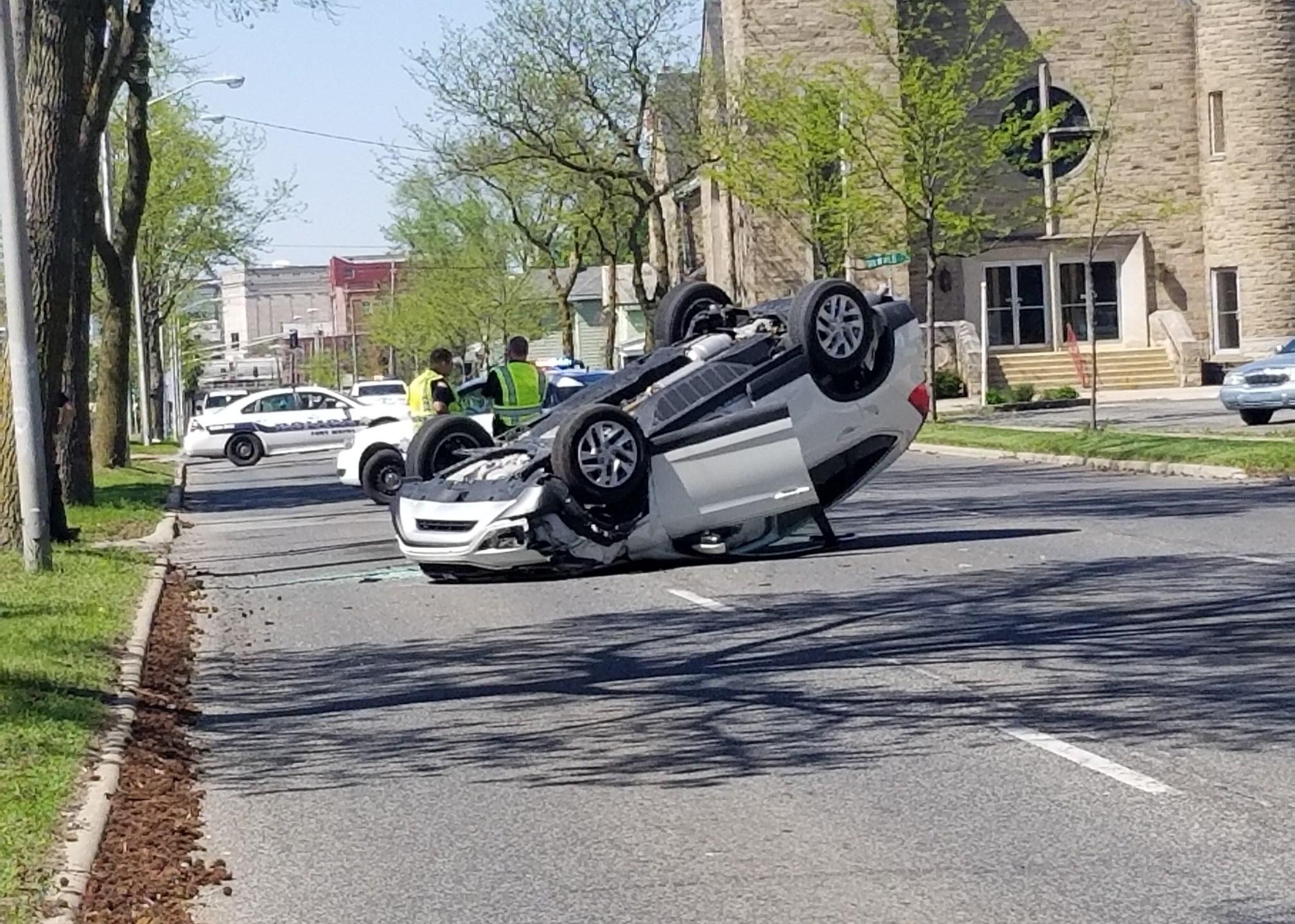 Creighton Clinton crash
