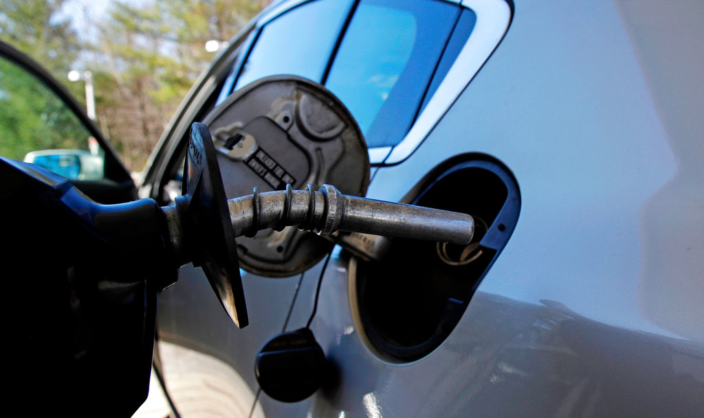 Rising Gasoline Prices pump and car gas
