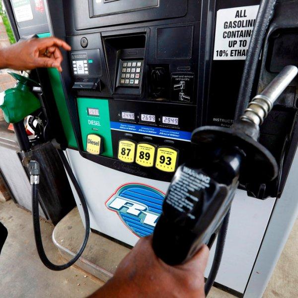 Rising Gasoline Prices pump