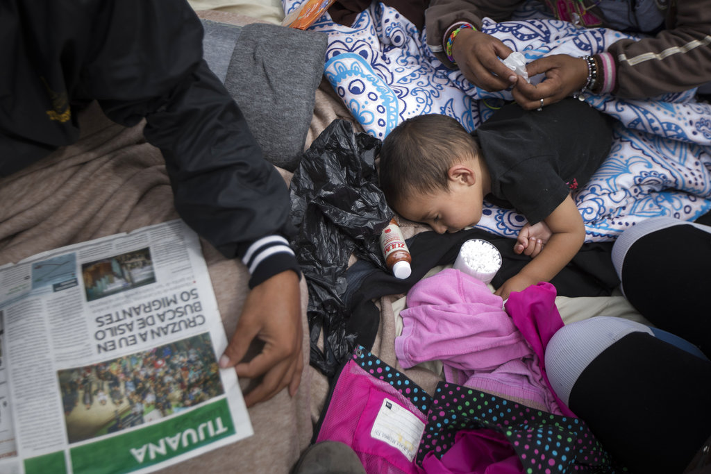 Mexico Migrants Caravan Asylum