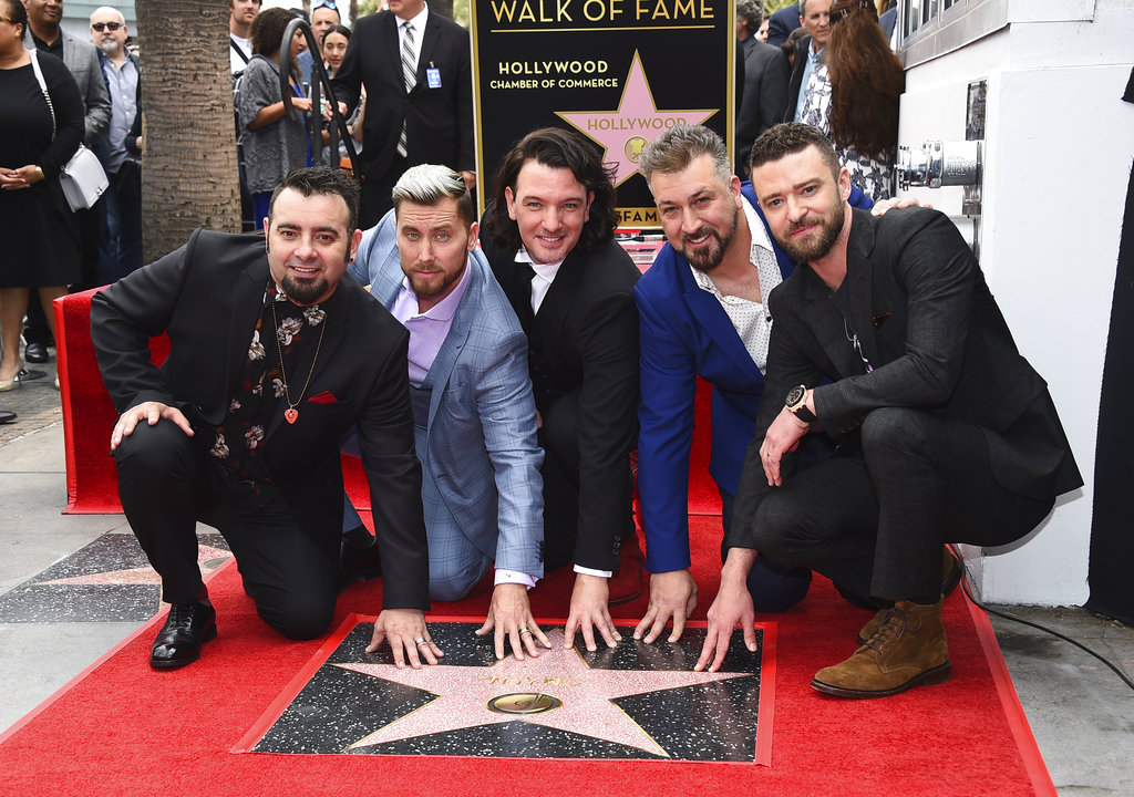 NSYNC Honored with a Star on the Hollywood Walk of Fame_1525196125908