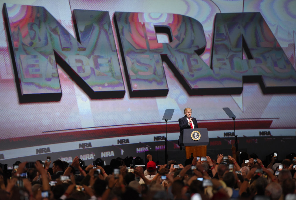 NRA Meeting Gun Politics