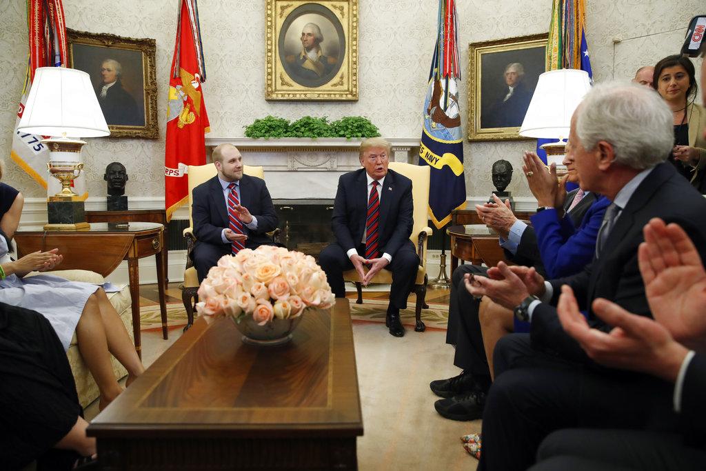 Venezuela Jailed American Trump_1527388982380