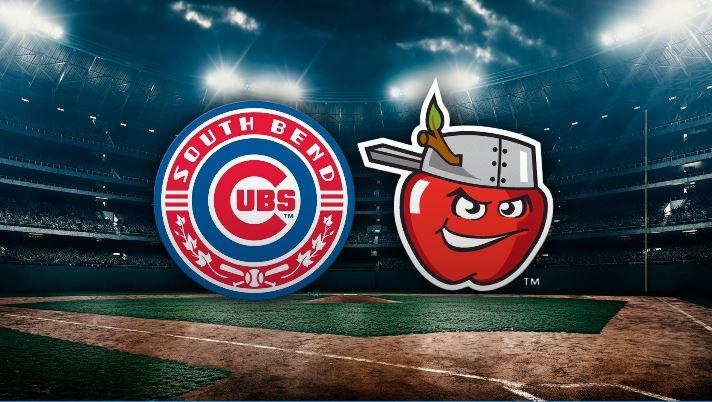 south bend cubs at tincaps logos