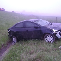 Car rolls several times on I-69 northbound