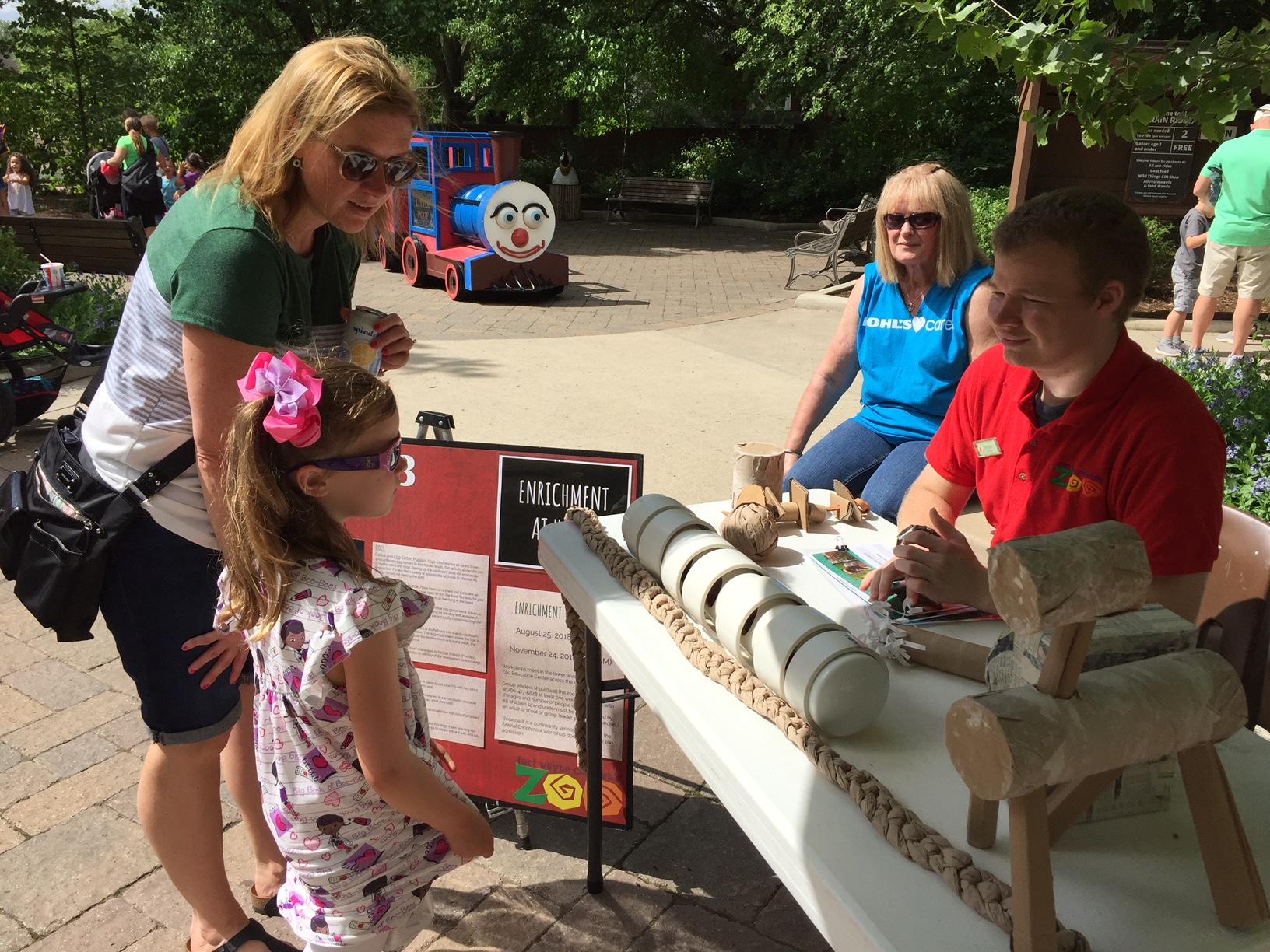 Fort Wayne Children's Zoo Enrichment Day