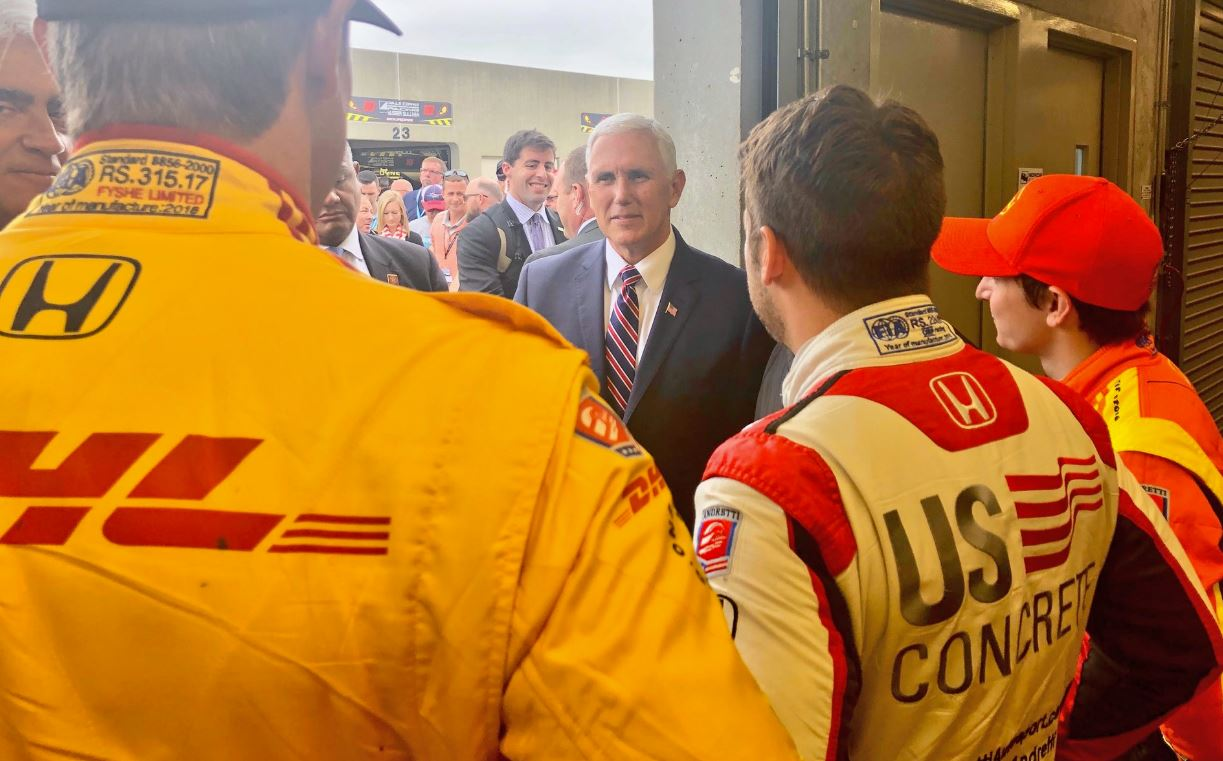 Mike Pence Indianapolis Andretti