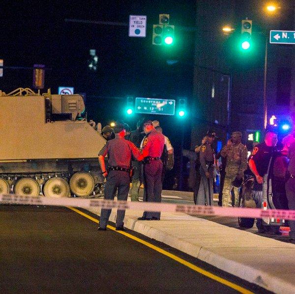 Armored Vehicle Stolen
