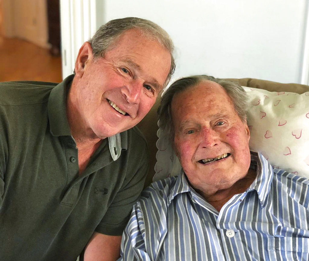 George HW Bush Birthday2