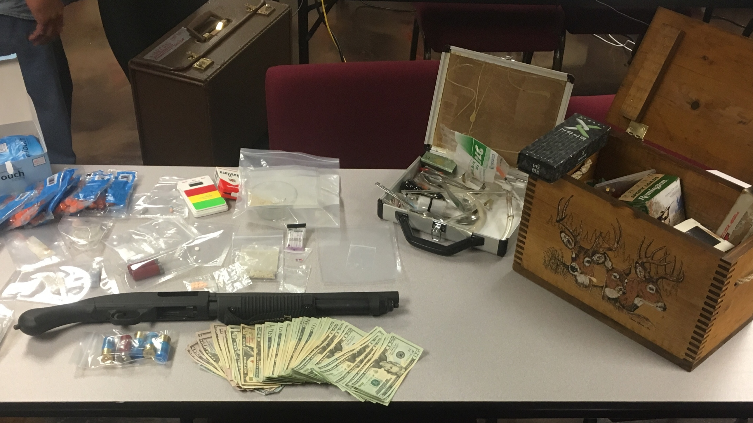 Noble County drug bust