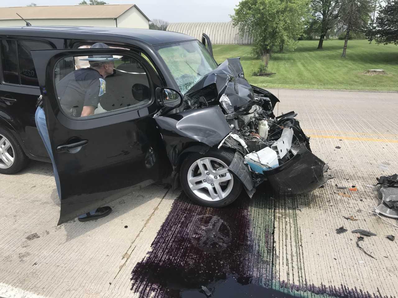 dekalb rear end collision