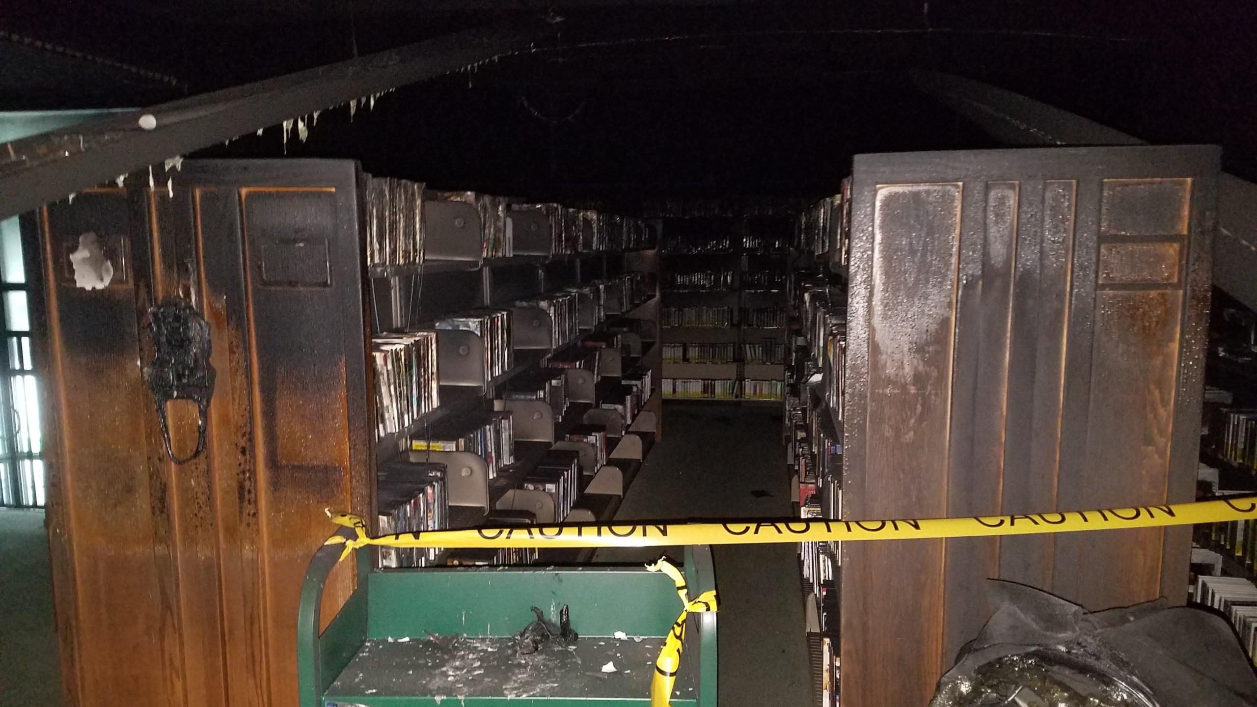 Eckhart Public Library Fire Damage_272110
