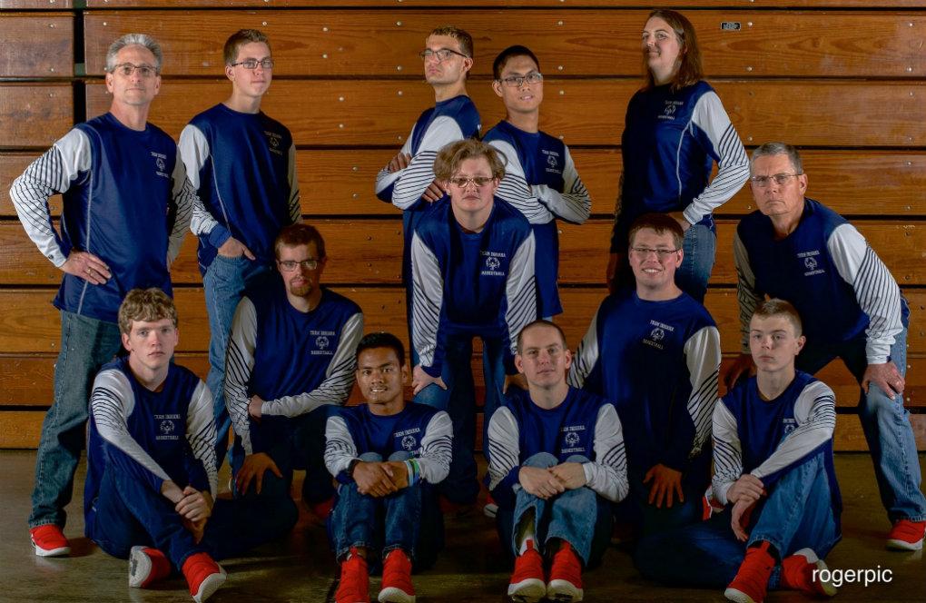 DeKalb County Special Olympics Indiana Basketball Team