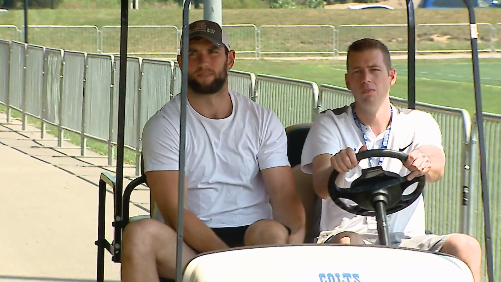 ANDREW LUCK MOVE IN DAY
