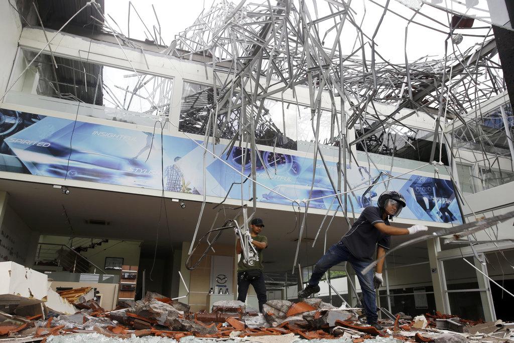 APTOPIX Indonesia Earthquake_1533550677847