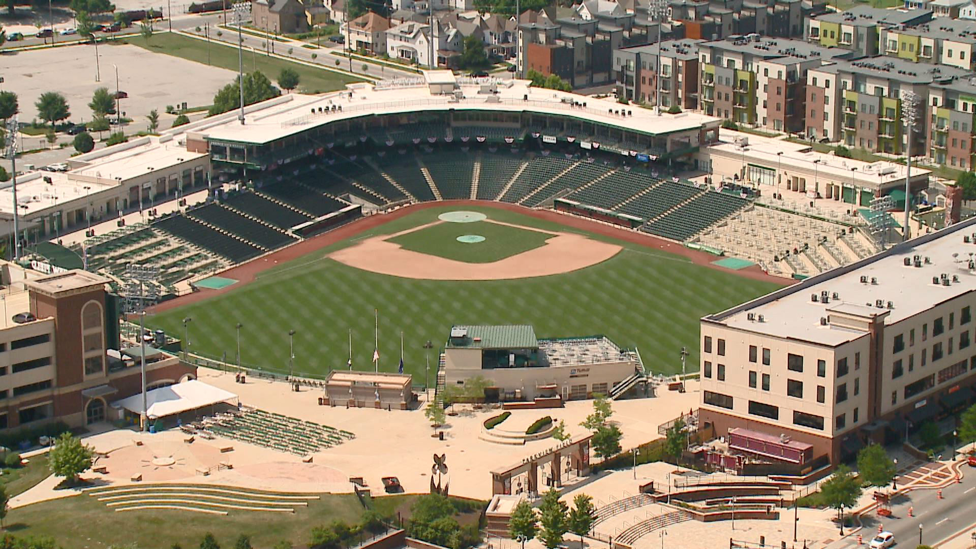 Parkview Field from above