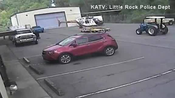 Police chopper crash caught on camera