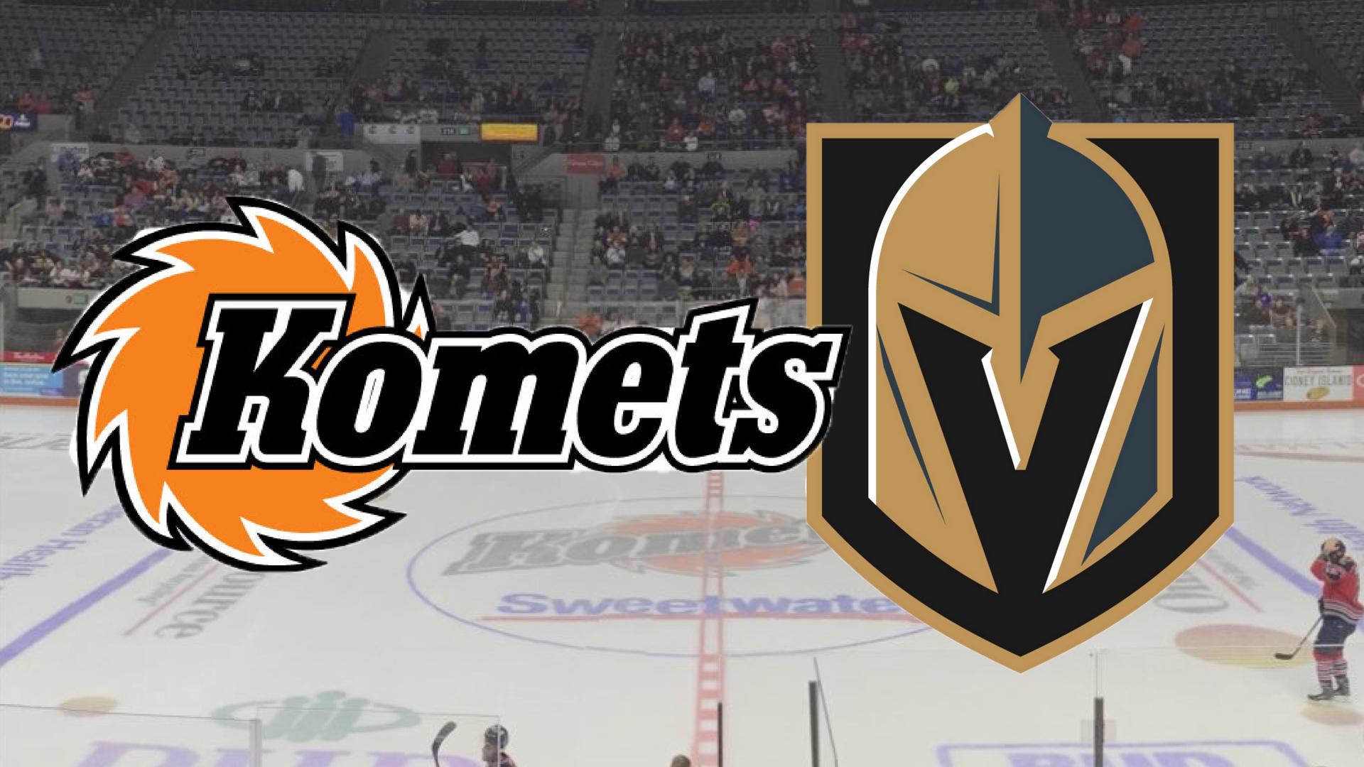 Fort Wayne Komets Vegas Golden Knights