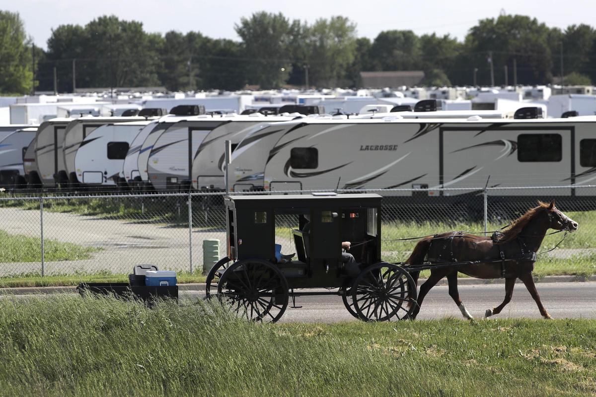 horse buggy amish