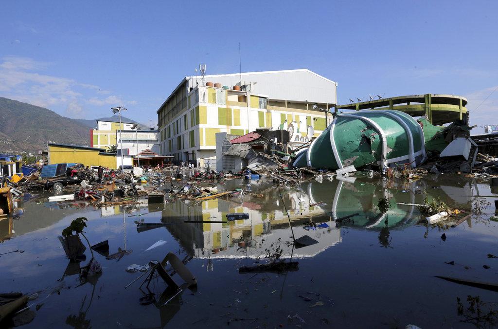 APTOPIX Indonesia Earthquake_1538318610549