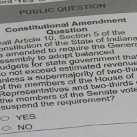 Indiana constitutional amendment question confusion