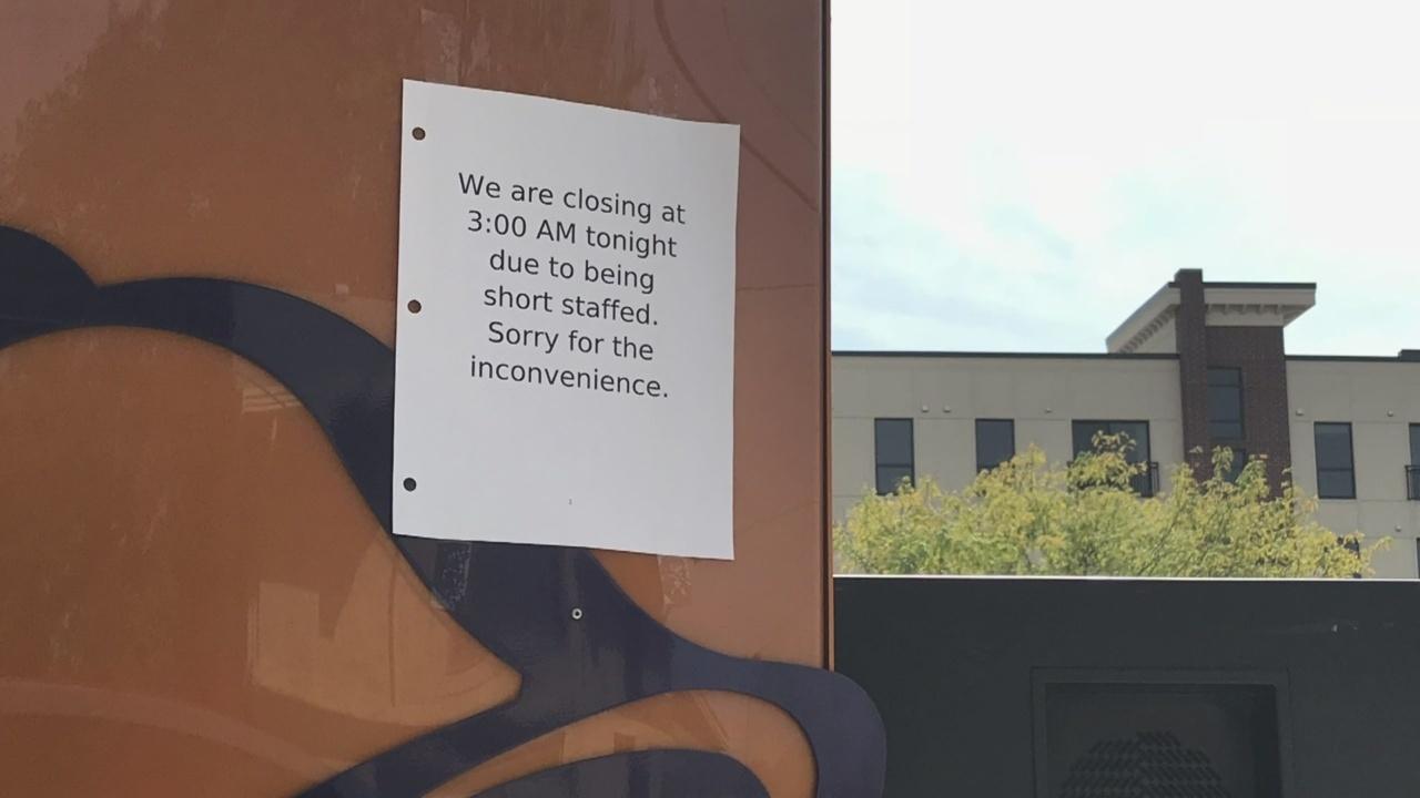 Restaurant Worker Shortage