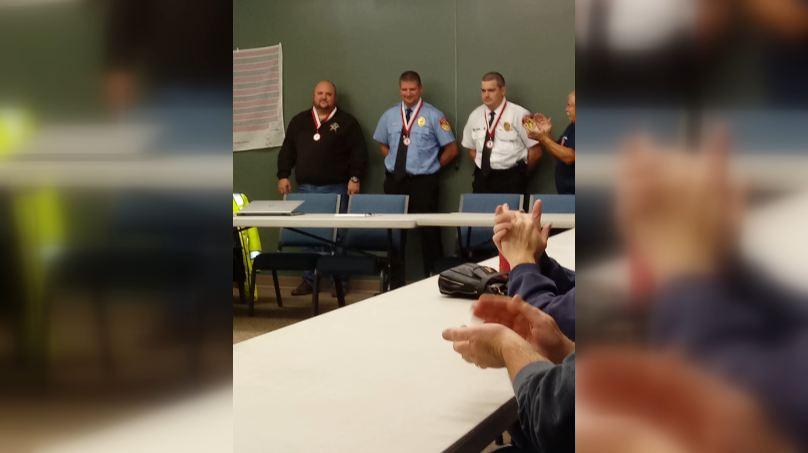 Indiana Volunteer Firefighters Life-Saving Award