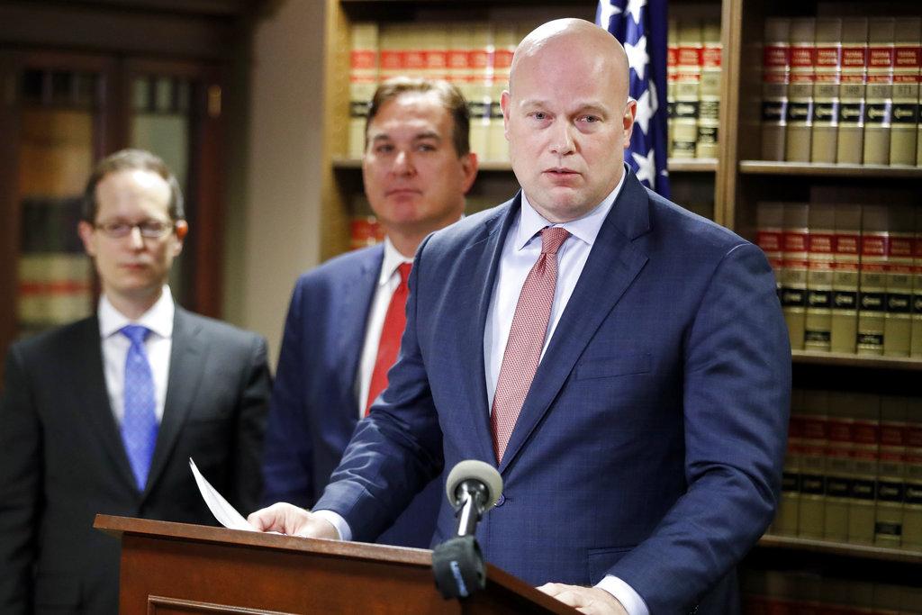 Attorney General Whitaker Cincinnati_1543624262415