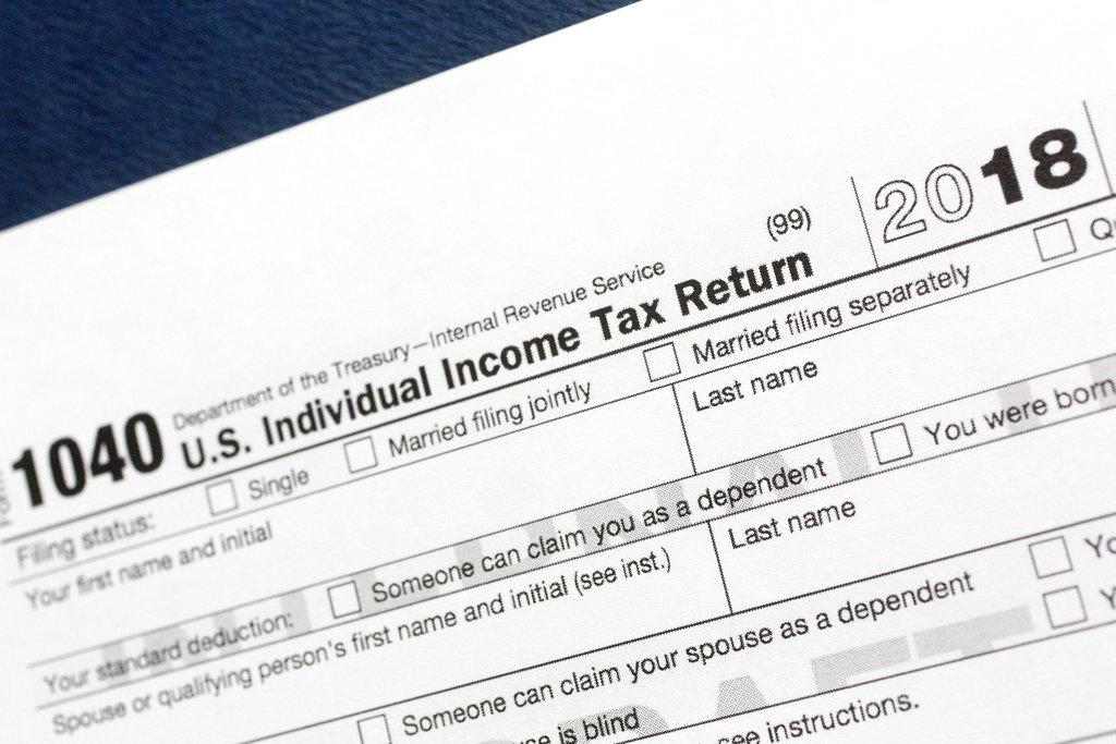 income tax return IRS