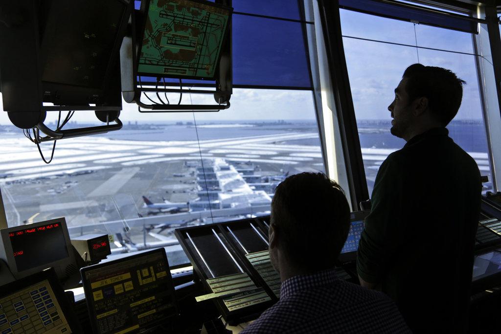 Government Shutdown Aviation control tower
