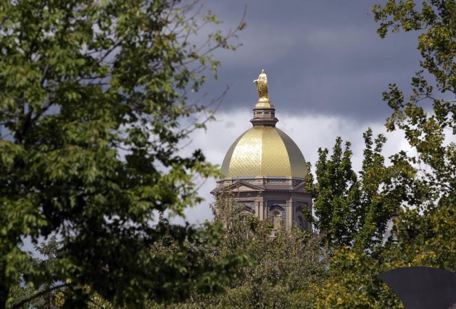 Notre Dame Golden Dome file