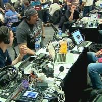 A look at Radio Row before Super Bowl 53
