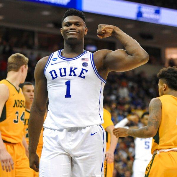 NCAA N Dakota St Duke Basketball_1553350377922