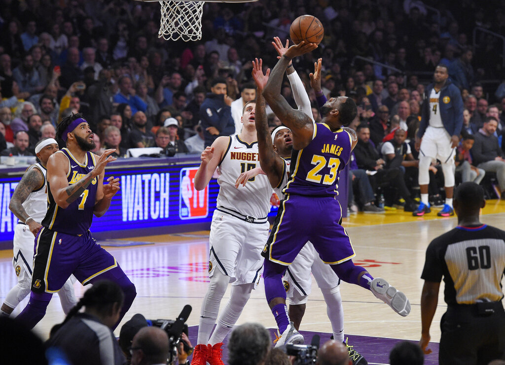 APTOPIX Nuggets Lakers Basketball_1551960317287