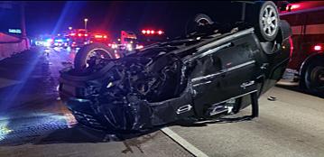 Escalade Hammond 80 94 crash Indiana State Police 1