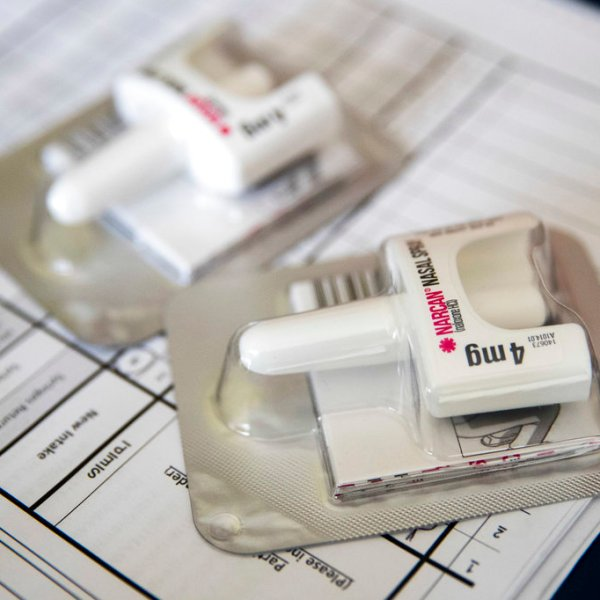 Opioid Antidote Prescribing Narcan