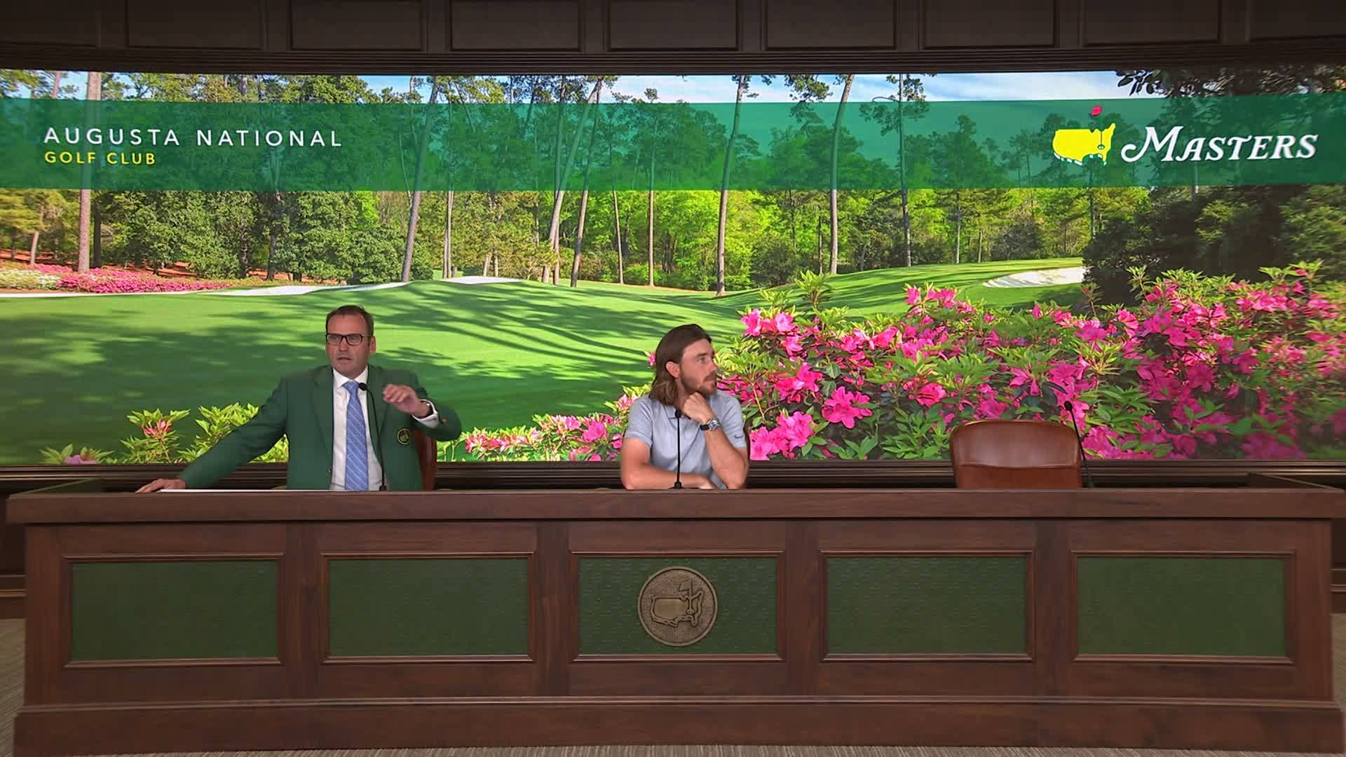 Masters 2019 Day 1 Tommy Fleetwood interview