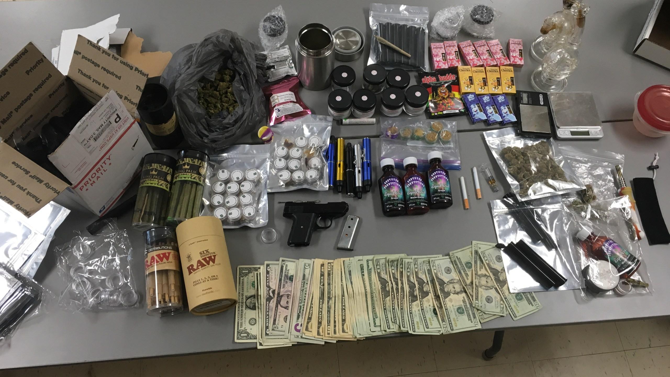 Garrett drug arrest