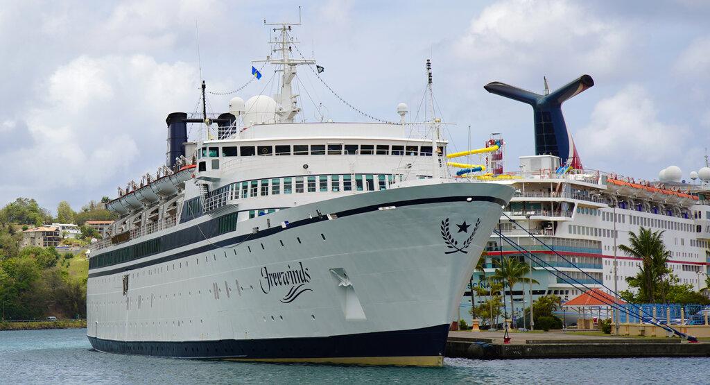 St Lucia US Quarantined Ship_1556889953929