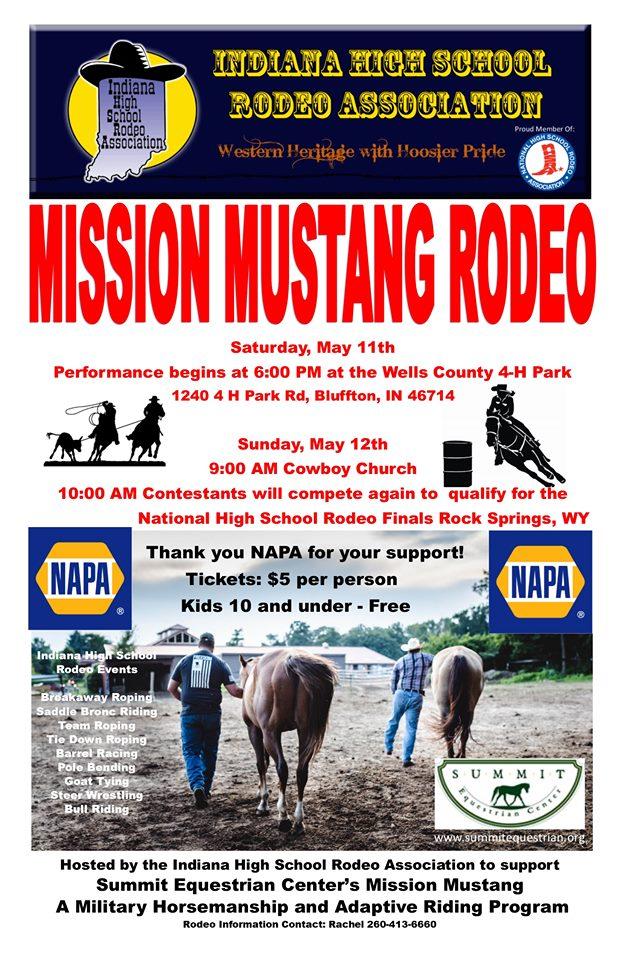 High school rodeo to buck into Bluffton