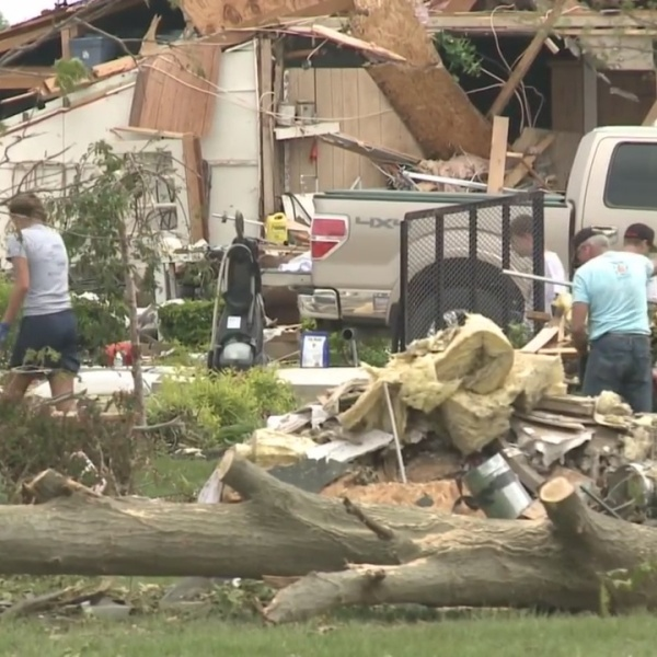 Clean-up in Celina