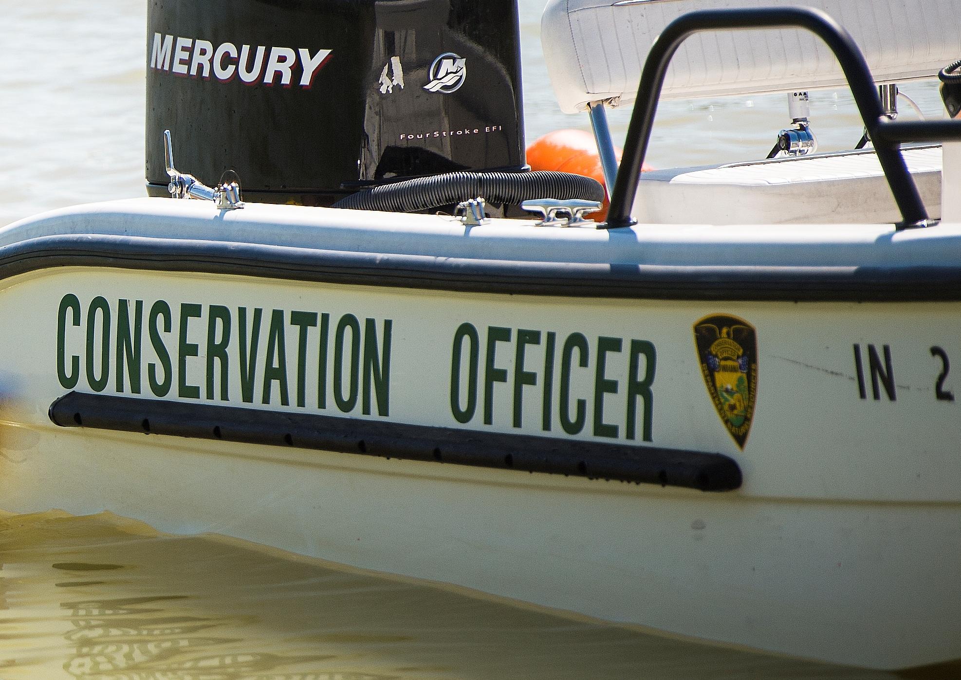 Conservation officer boat DNR