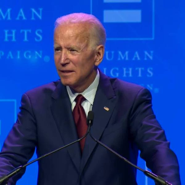 Biden: End Trump administration, transgender violence
