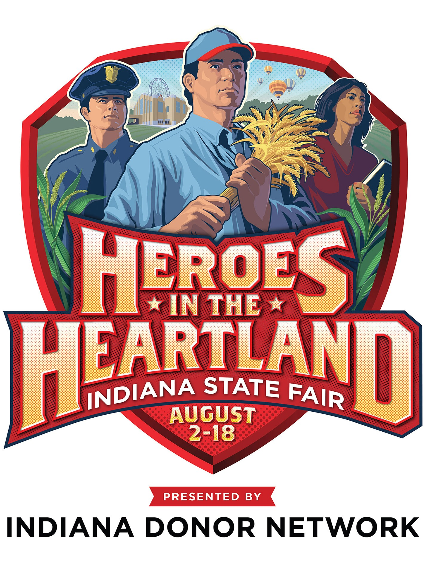 Indiana State Fair 2019 logo