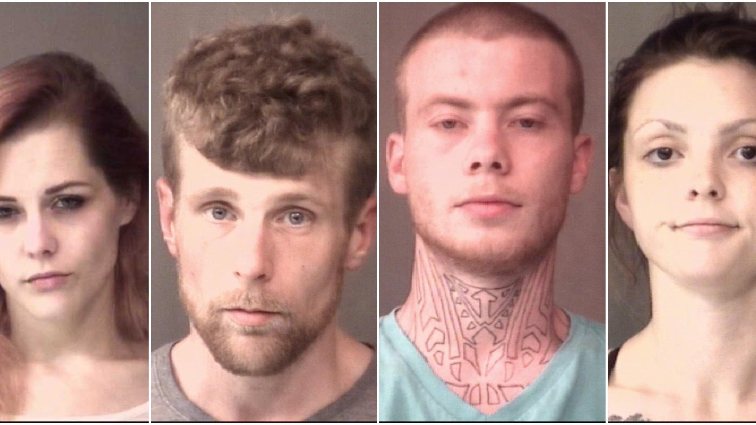 4 arrested after meth found during drug raid | WANE