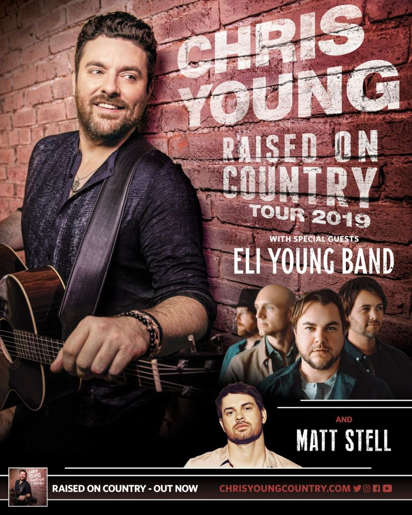 Chris Young, Eli Young Band to perform at the Memorial Coliseum